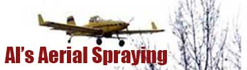 Logo for Al's Aerial Spraying